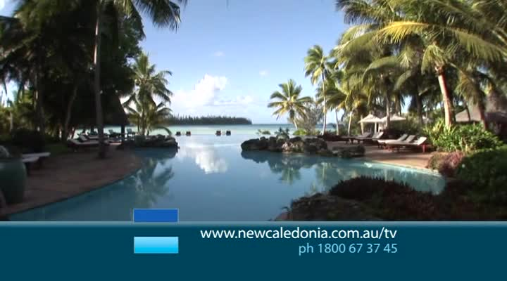 30 sec TV Commercial for New Caledonia Tourism (heart)
