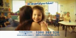 TV Campaign Thomson Education