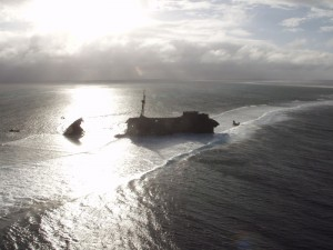 Aerial video in the Pacific Islands