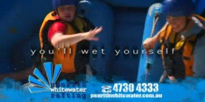 Successful TV Campaign for Penrith Whitewater Rafting