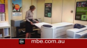 30 sec TV Commercial for MBE Printing Services