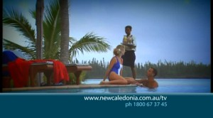 30 sec TV commercial for New Caledonia Tourism (smiles)