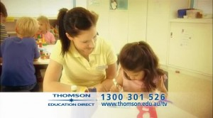 Direct Response TV Commercial for Thomson Education Direct