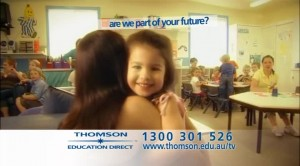 DR TV commercial for Thomson Education Direct