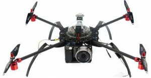 Aerial drone with high defintion video camera